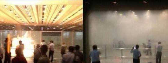 Un chino en silla de ruedas detona una bomba en el aeropuerto de Pekín