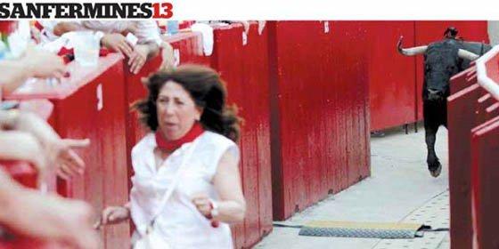 A la delegada del Gobierno en Navarra le cae un expediente tras pegarse el susto de su vida