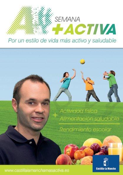 Plan de Acción Global Castilla-La Mancha +ACTIVA, por un estilo de vida más activo y saludable