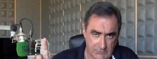 """Carlos Herrera cree que hay más cosas en los papeles de Bárcenas, pero que El Mundo va a por Rajoy: """"La caza mayor es la caza mayor"""""""