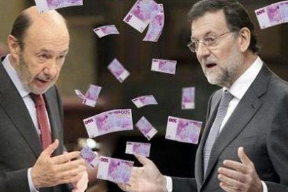 Los partidos políticos se reparten 28 millones de euros en subvenciones en seis meses