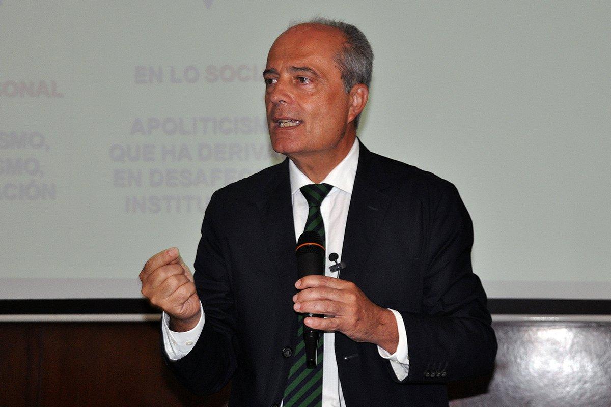"""Javier Cortés: """"La escuela necesita recuperar un espacio de esperanza"""""""