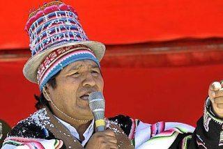 Evo Morales y Snowden