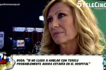 """Rosa Benito no puede más con el tema de Amador Mohedano: """"Si no me llega a llamar Terelu, hoy estaría en un hospital"""""""
