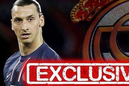 Ibrahimovic se ofrece al Real Madrid como nuevo delantero centro