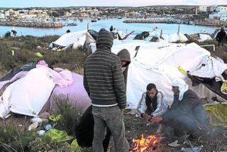 El Papa, con los sin papeles de Lampedusa