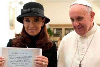 Cristina compara al Papa con Néstor Kirchner