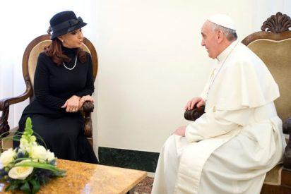 """Francisco a CFK: """"La tengo presente en mi oración"""""""