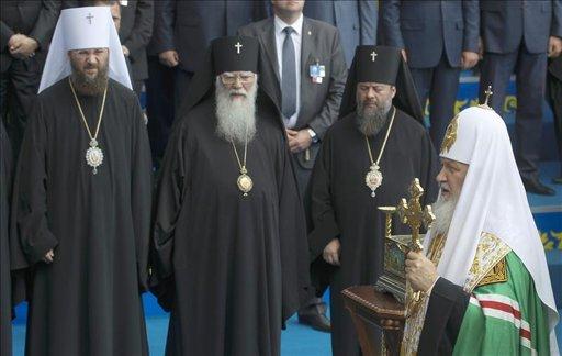 Ucrania, Rusia y Bielorrusia celebran los 1.025 años de su cristianización