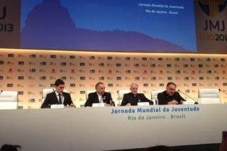 """Lombardi: """"El Papa parecía estar disfrutando de estar rodeado de gente"""""""