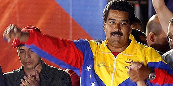 """Maduro, al peor estilo Chávez, se empacha de Rajoy al que califica de """"fascista"""" y """"corrupto"""""""
