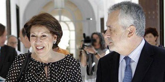 La imputación de la exministra 'Maleni' explica la huida de Griñán