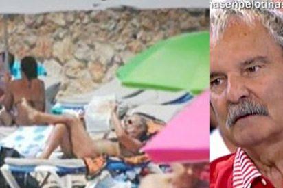 La foto que nunca quisimos ver: Jesús Mariñas pillado in fraganti en la playa, ¿está desnudo?