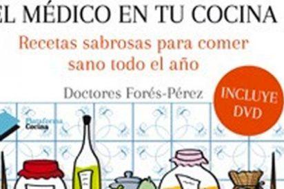 Los doctores Forés-Pérez lanzan una recopilación con recetas sabrosas para comer sano todo el año