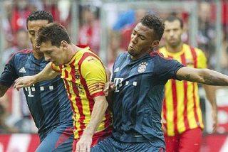 El Barça de Messi se quedó en simple sparring del Bayern de Ribery