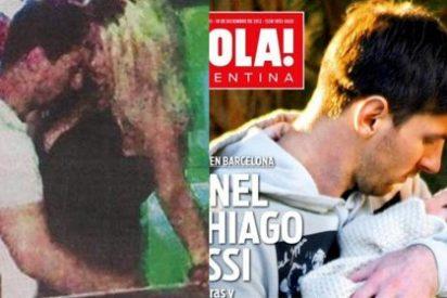 Las fotos de Messi con una 'stripper' son falsas