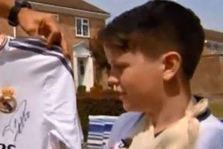 Un balonazo de Cristiano Ronaldo parte la muñeca a un niño de 11 años