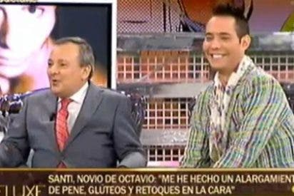 El vidente Octavio Aceves denuncia en el 'Deluxe' que le han dado una paliza y termina hablando del alargamiento de pene de su novio y de infidelidades