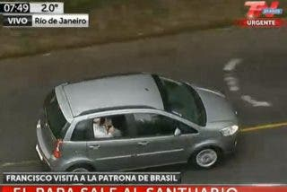 Francisco ya viaja a Aparecida