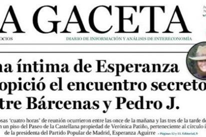 Aguirre niega que la reunión entre Bárcenas y Pedrojota se hiciera en la casa de una amiga íntima suya
