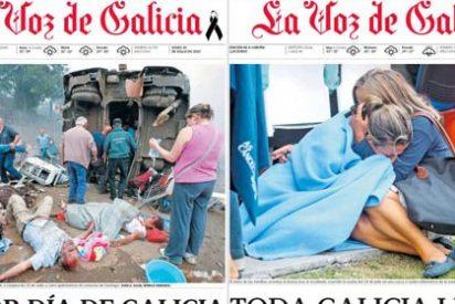 """Xoan Soler, fotógrafo de La Voz de Galicia: """"Es una escena dantesca, casi no te das cuenta de lo que está pasando"""""""