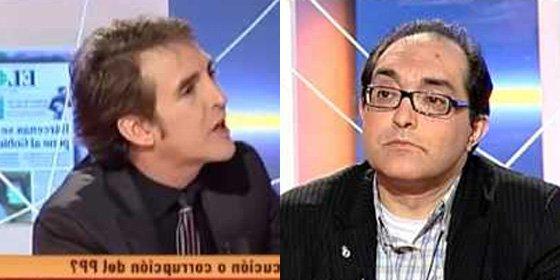 """Ramoncín a Villarroya: """"No te consiento que digas que soy de los que quieren perdonar a ETA"""""""