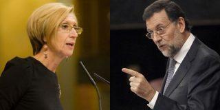 Rosa Díez tira de la orejas a Rajoy y le dice que el 'caso Bárcenas' es su responsabilidad