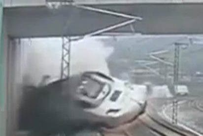 Los presidentes de Renfe y Adif culpan al maquinista del accidente