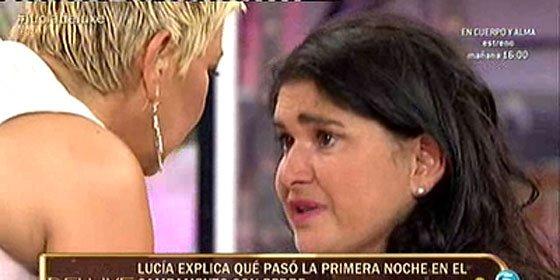 Las bragas fucsia de Terelu tiñen el supuesto 'humor blanco' de Telecinco