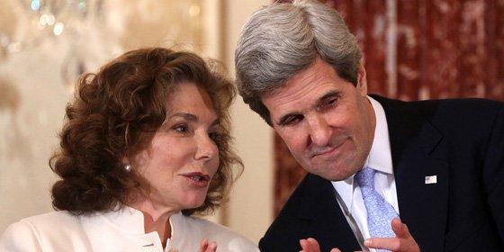 En estado crítico la mujer de John Kerry, secretario de Estado de EE.UU.
