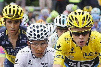 Chris Froome sufre pero le mete casi otro minuto a Alberto Contador en el Tour