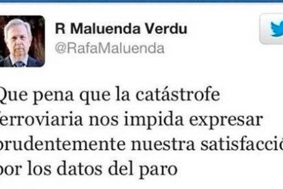 Un diputado del PP valenciano 'sufre' porque el accidente de Santiago le impide celebrar los datos del paro