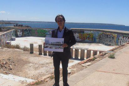 El PRI de la Playa de la Palma contempla un Beach Club en la piscina de Cala Estancia