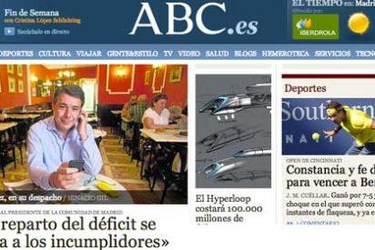 El extraño despacho que el diario 'ABC' le ha endosado al presidente de Madrid
