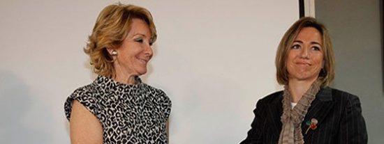 Esperanza Aguirre y Carme Chacón: mujeres al borde de un gran cabreo