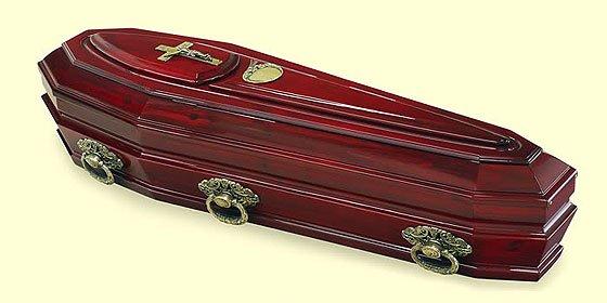 Saca el cadáver de su padre del ataúd y lo mete en el congelador de su casa