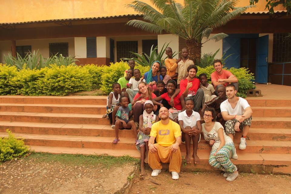 Universitarios en Benin