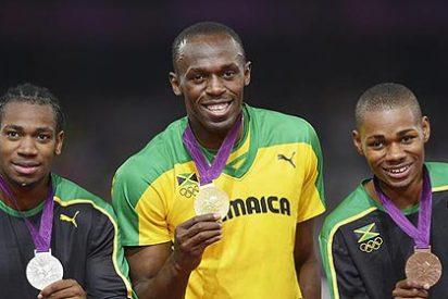 Usain Bolt cierra el Mundial con el triplete: Jamaica gana el oro en el 4x100