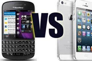 BlackBerry lucha por sobrevivir frente a Apple y Android
