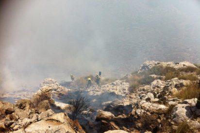 Se da al fin por controlado el incendio de Andratx, tras quemarse 2.335 hectáreas