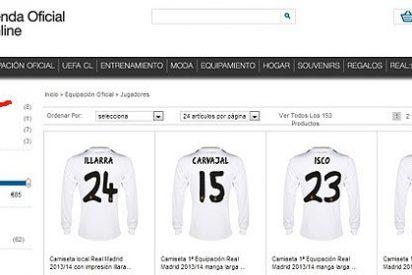 El Real Madrid ya vende la camiseta de Gareth Bale en su tienda online
