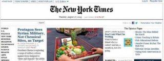 Piratas informáticos chinos tumban la web de 'The New York Times'