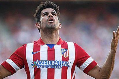 Diego Costa pone en marcha la 'trituradora' del Atlético de Madrid