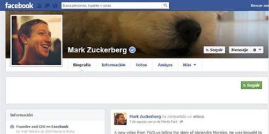 Un 'hacker' se cuela en el muro del fundador de Facebook para mostrar su vulnerabilidad