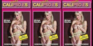 El reclamo para la feria del PSOE en Melilla era la foto de una famosa actriz porno desnuda