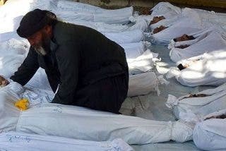 Médicos Sin Fronteras informa de 355 muertos por agentes químicos en Siria