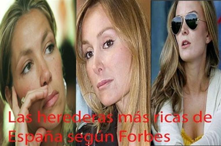 Las herederas más ricas de España son... Sandra y Marta Ortega, las Koplowitz y Ana P. Botín