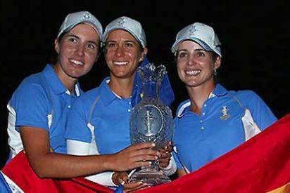 [Video] España arrolla a EEUU en la Solheim Cup de golf