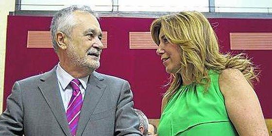 Griñán deja la presidencia de la Junta andaluza pero blindado ante la juez Alaya