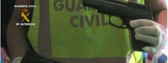 La Guardia Civil detiene a una banda de pistoleros y evita el robo de un millón de euros